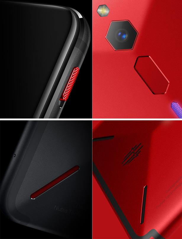 Дизайн Nubia Red Magic