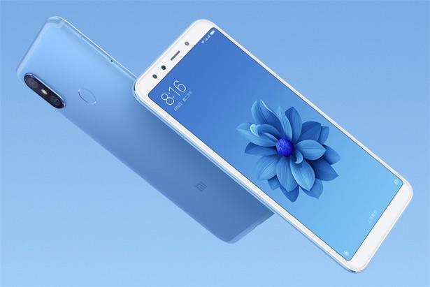 Голубой Xiaomi Mi 6X (Mi A2)