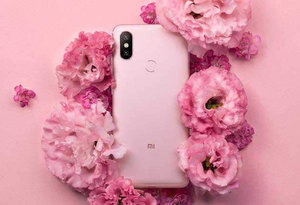 Розовый Xiaomi Mi 6X (Mi A2)