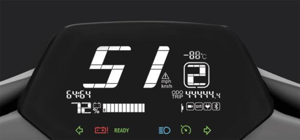 Приборная панель Фары Батарея Xiaomi Super Soco CU Electric Smart