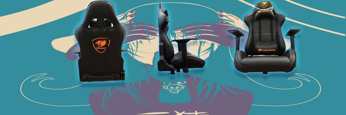 Обзор игрового кресла Cougar Armor Black