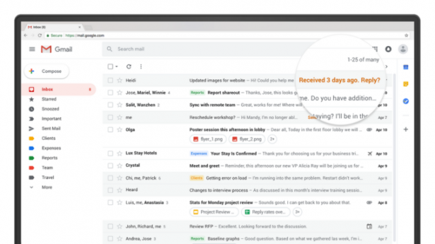 Gmail обновил систему безопасности, добавив функцию самоуничтожения писем