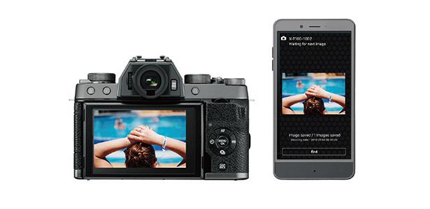 Подключение камеры Fujifilm X-T100 к смартфону