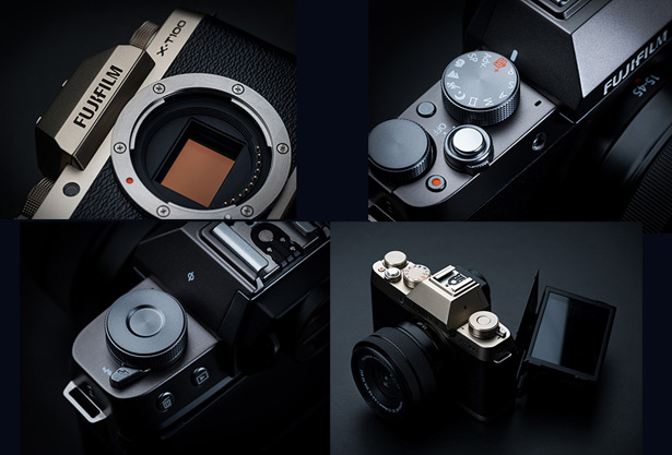 Дизайн Fujifilm X-T100