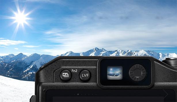 Электронный видоискатель Подводная съемка с Panasonic LUMIX DC-FT7