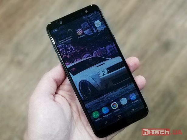 Нарынке РФ  появились мобильные телефоны  Самсунг  Galaxy A6 иGalaxy А6+