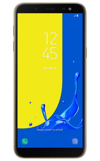 Samsung-galaxy-j6 gold