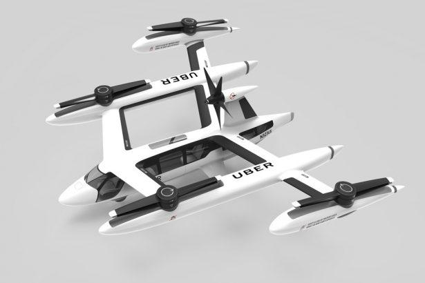 Uber иNASA договорились совместно работать над созданием воздушных такси
