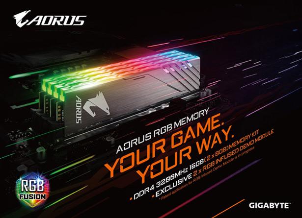 AORUS RGB DDR4 3200MHz