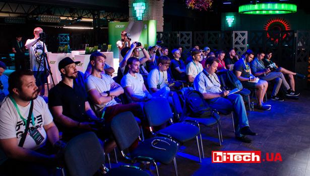 Acer презентация в Украине ноутбуков 2018 года