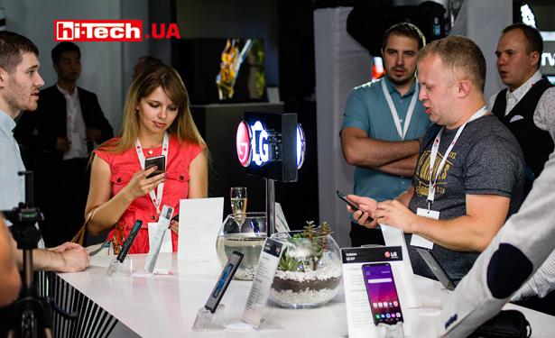 Презентация новинок LG 2018 года в Украине