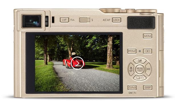 Экран Leica C-Lux