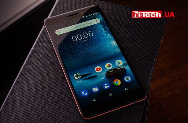 Экран Nokia 6.1