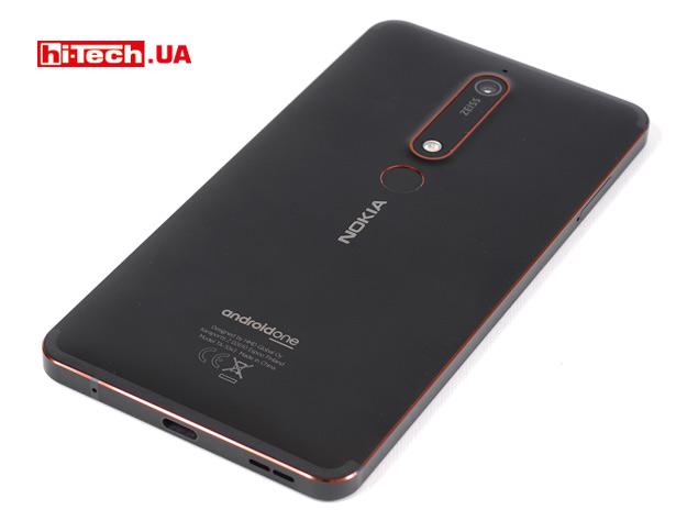 Задняя панель Nokia 6.1