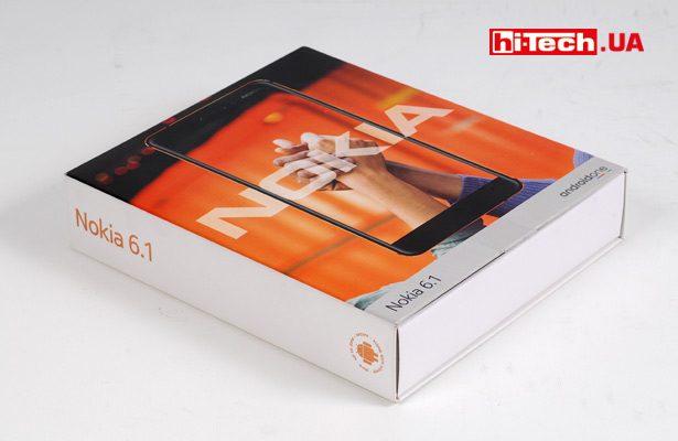 Упаковка Nokia 6.1