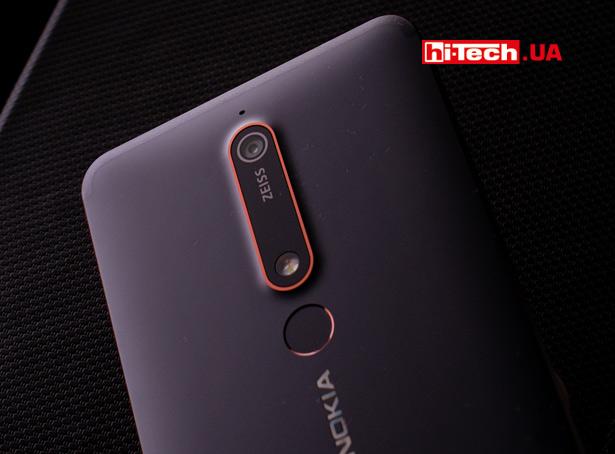 Сканер отпечатка Nokia 6.1
