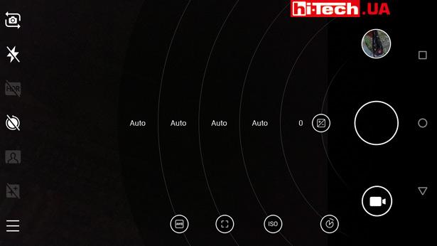 Ручная настройка параметров камеры Nokia 6.1 в pro-режиме