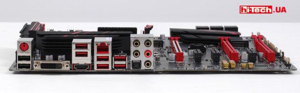 Панель разъемов MSI X470 Gaming Plus