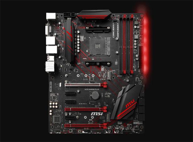 Подсветка MSI X470 Gaming Plus