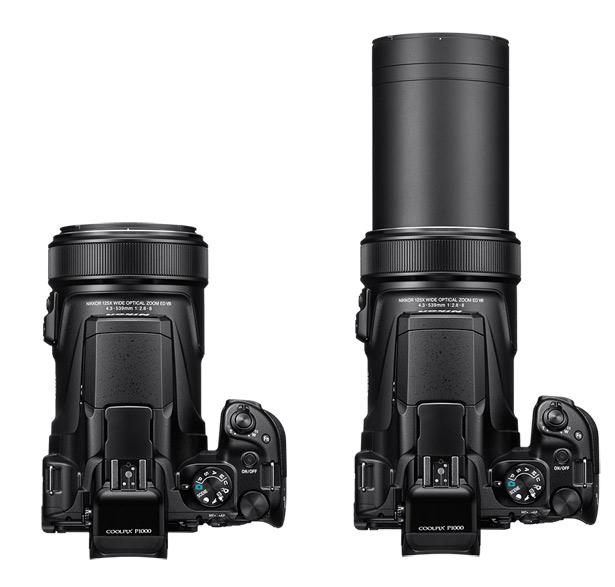 Выдвижной объектив Nikon Coolpix P1000
