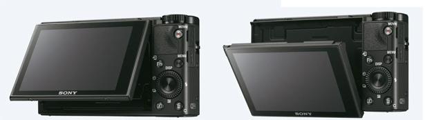 Экран Sony Cyber-shot DSC-RX100 V