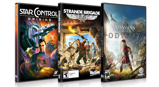 AMD дарит три игры