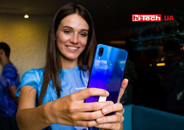Съемка селфи камерой Huawei P smart+