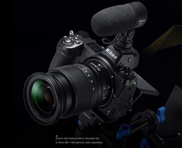 Видеосъемка с Nikon Z 7 и Nikon Z 6