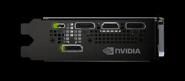 Выходы видекоарты NVIDIA GeForce RTX 2080 Ti