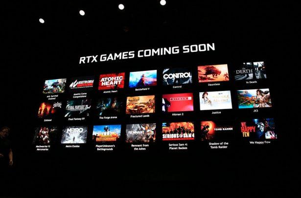 Игры с поддержкой RTX