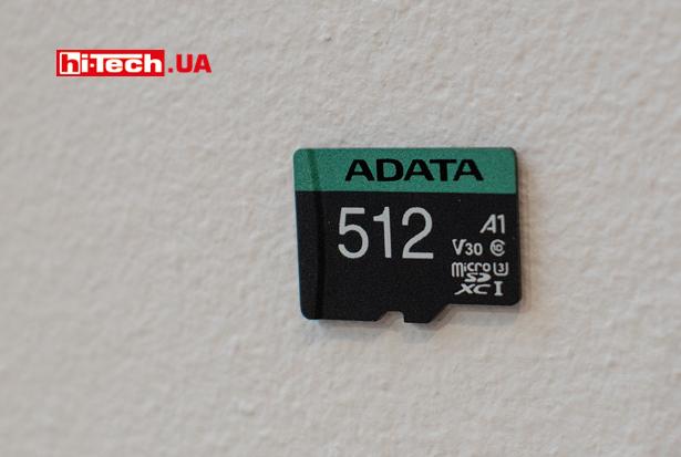 ADATA microSD UHS-I U3 V30 A1 (V30S) 512 ГБ