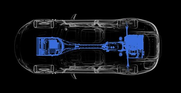 Электроустановка Aston Martin Rapide E