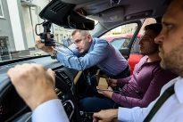 Демонстрация автомобильных разработок GlobalLogic в Украине