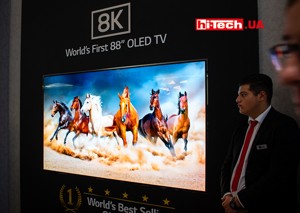 88-дюйиовый OLED-телевизор LG с разрешением 8K