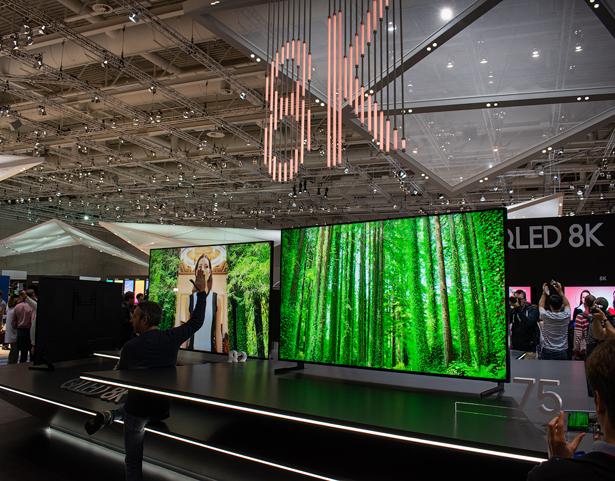 ТВ-панели Samsung с 8K-разрешением