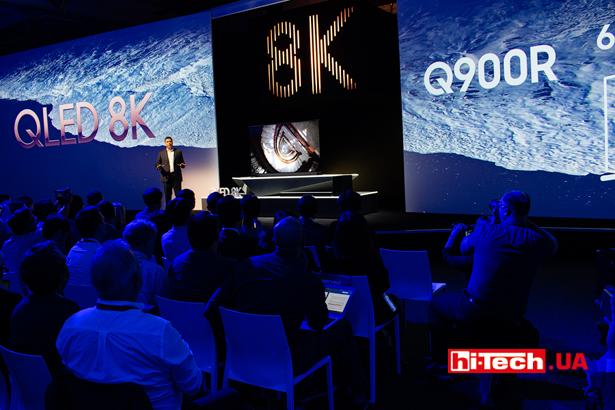 Анонс 8K-телевизоров Samsung
