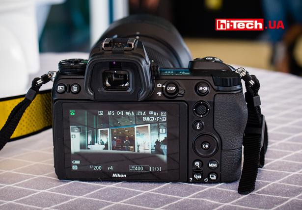 Экран Nikon Z 7