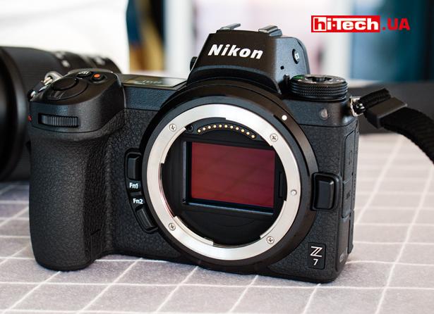 Беззеркальная полнокадровая камера Nikon Z 7 с байонетом Z