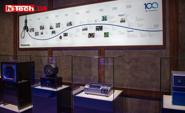 100-летний юбилей Panasonic