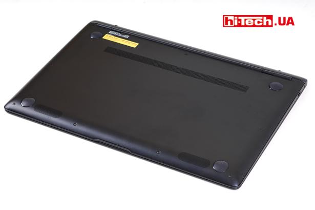 ASUS ZenBook S UX391UA. Вид снизу