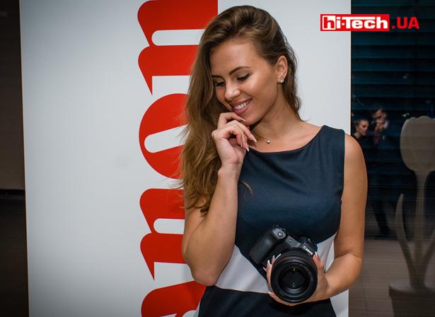 Презентация полнокадровой беззеркалки Canon EOS R в Украине