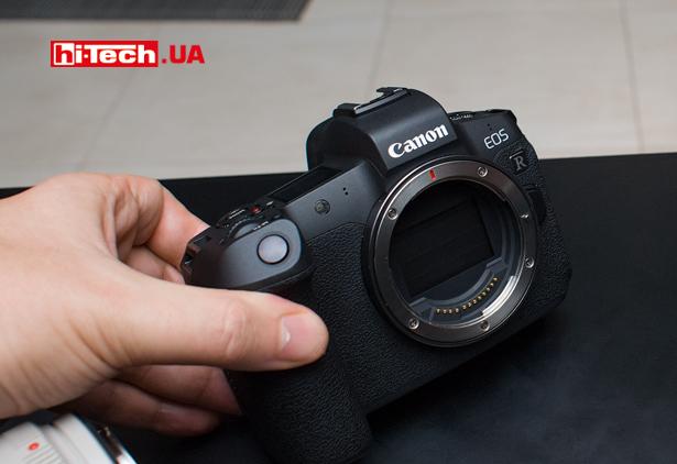 Байонет RF камеры Canon EOS R