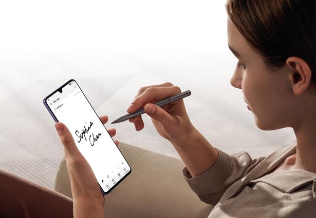 Huawei Mate 20 X с опциональным стилусом M-Pen