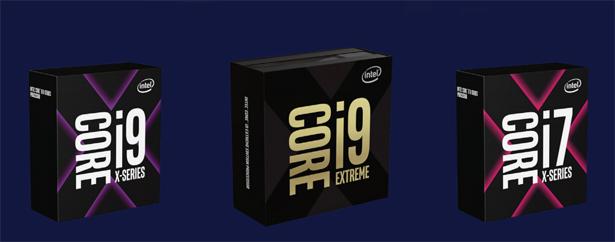 Intel Core X 2018