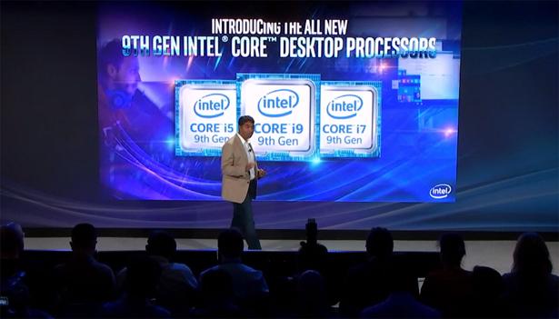 Презентация Intel Core девятого поколения
