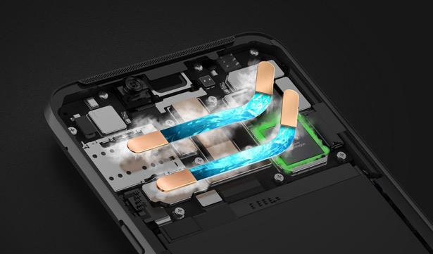 Система охлаждения Xiaomi Black Shark 2