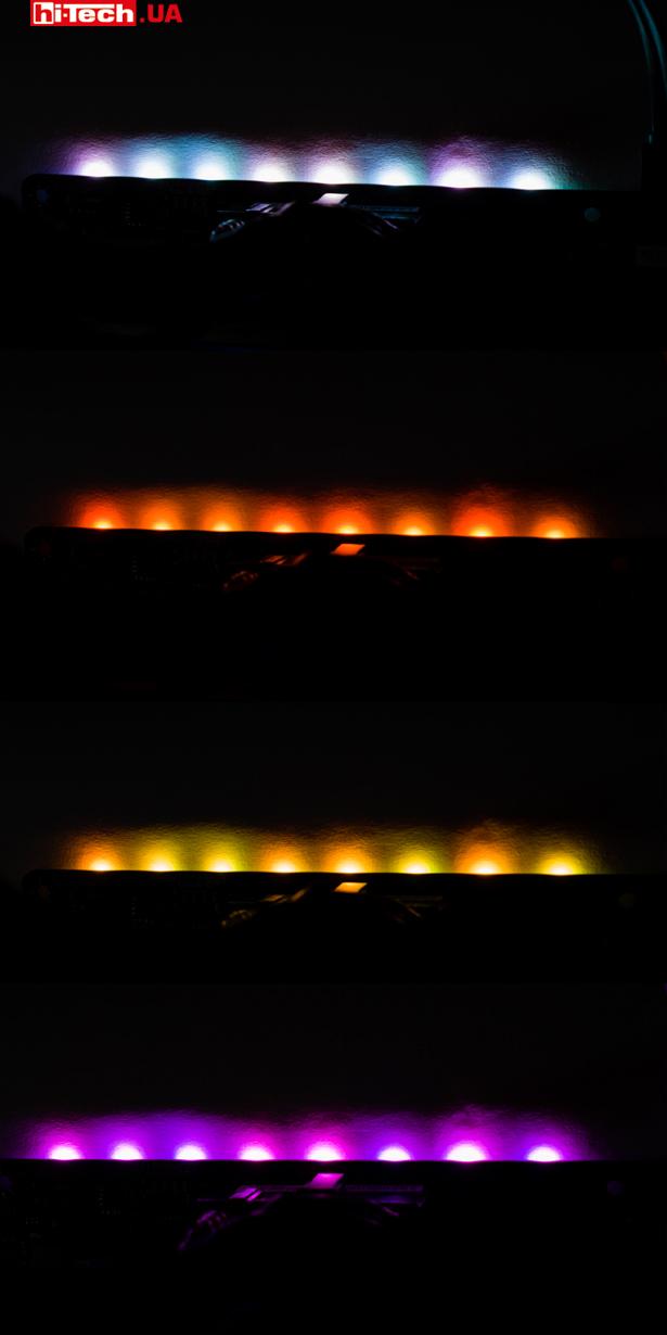 Подсветка MSI B450M Mortar