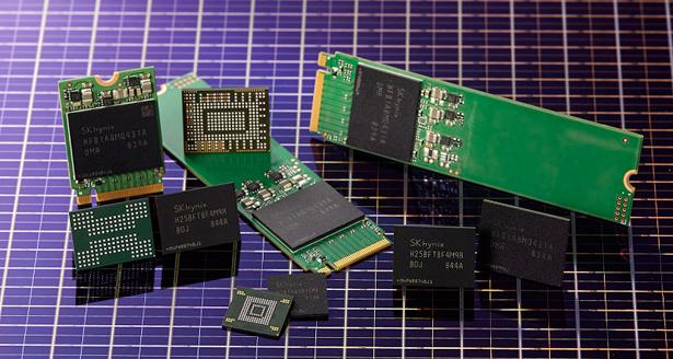 96-слойная флеш-память SK Hynix 4D NAND