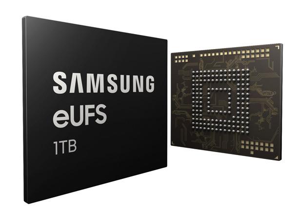Микросхема Samsung 1TB eUFS