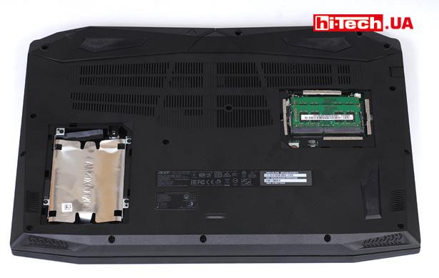 Нижняя панель Acer Nitro 5 2018 (AN515-52-70VN)